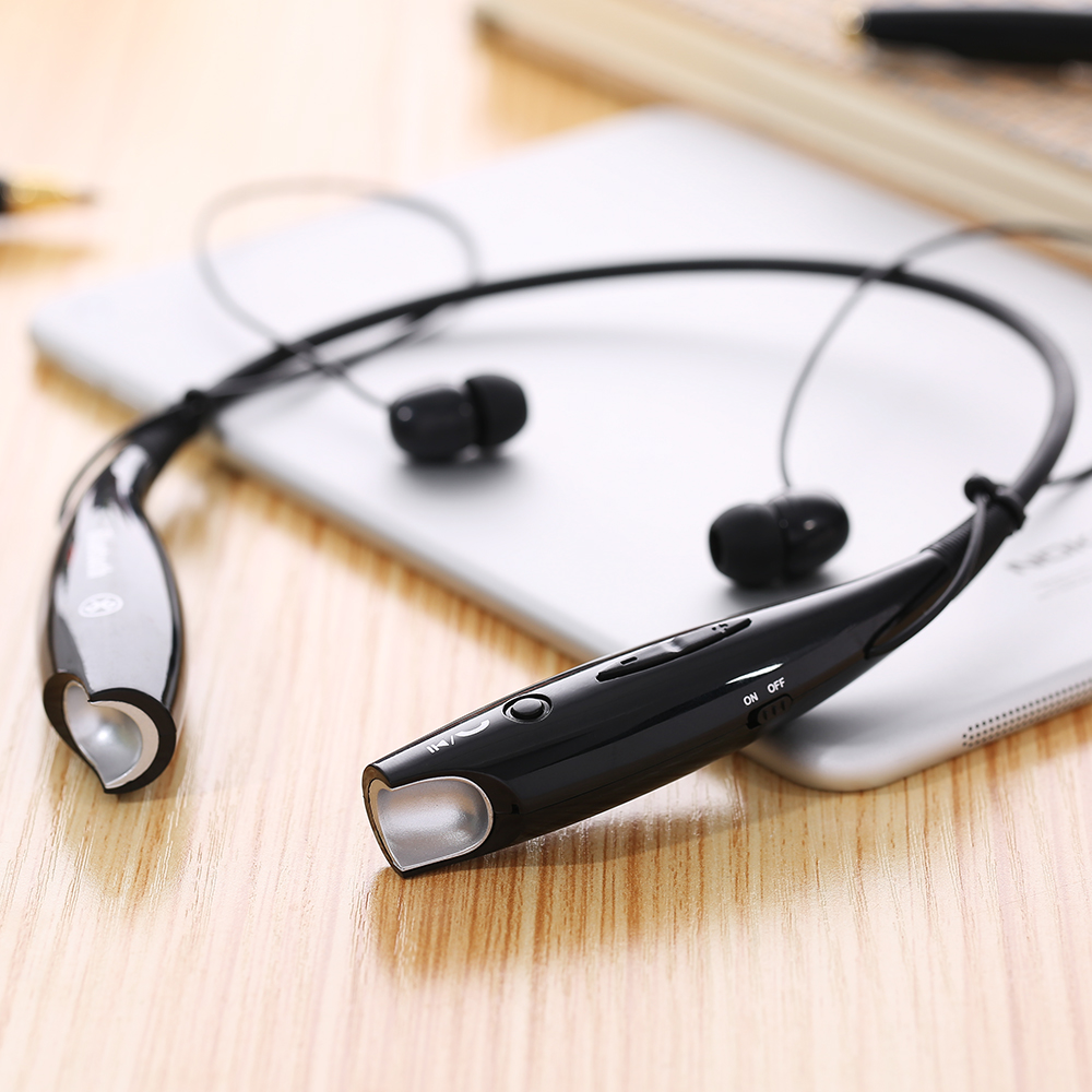 Bluetooth Headphone 4 0 Music Stereo Headset Neckband Phone Calls Wireless Earphone Mic for iPhone Samsung