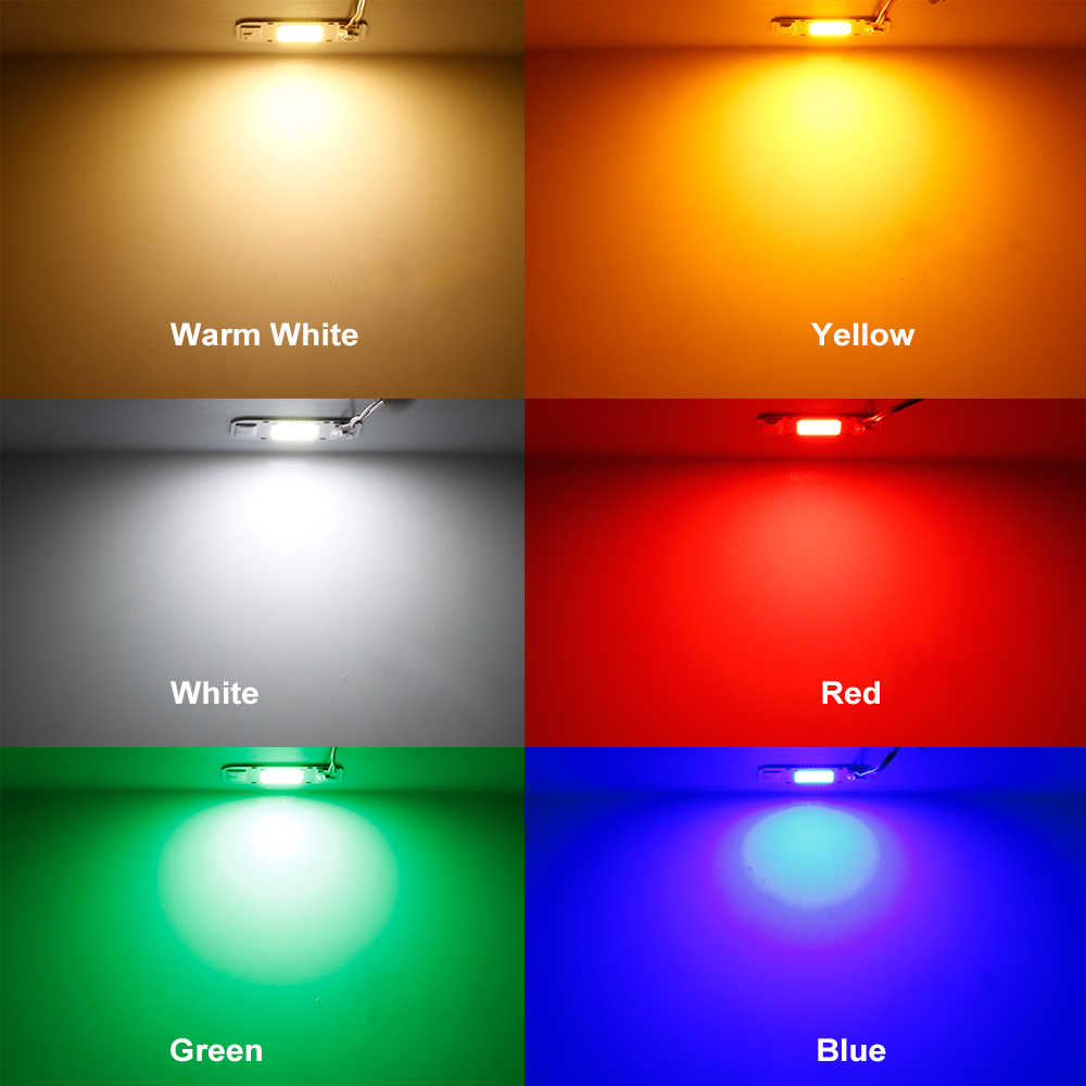 LED COB Lamp Chip DOB Led Bulb 20W 30W 50W AC 220V Smart IC DIY LED Floodlight Spotlight Energy Saving Lamp  Supper Bright Light