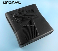 OCGAME Full protective Housing Shell Case for XBOX360 xbox 360 Slim console system Black