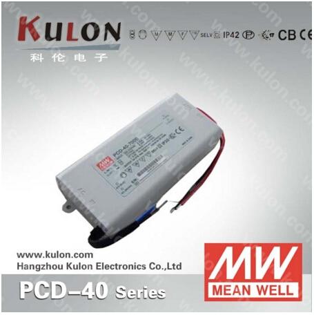 все цены на 40W 700mA LED power supply Meanwell PCD-40-700B constant current AC dimmable UL CB TUV CE EMC FCC онлайн