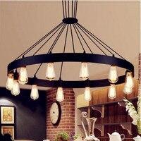 American Country Edison Loft Industrial Lamp Retro Vintage Pendant LightsFixtures Hanglamp Luminaire Lampara Colgante Lampen
