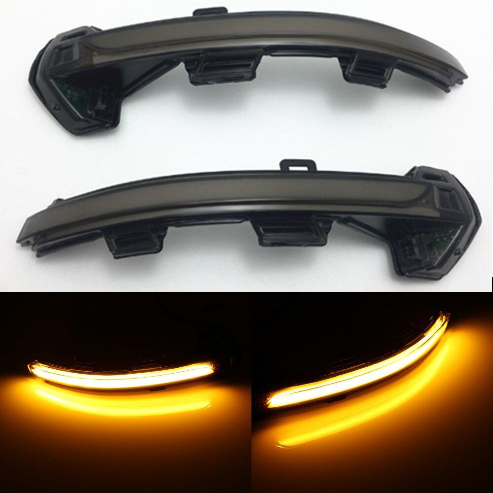Kolossmeet for vw Passat B8 Dynamic Blinker LED Rearview side Mirror sequential turn signals light indicator 2016 2017 2018