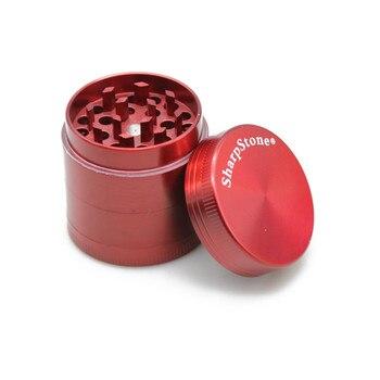 Mini 40mm tabaco herbal herb grinder sharpstone 4 camadas 6 cores acessórios pólen spice grinder fumaça crusher mão muller