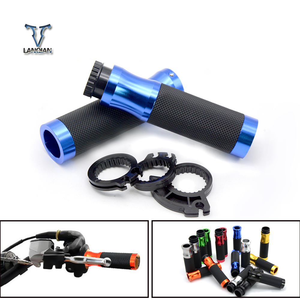 22mm Motorcycle Hand Grips Handle Rubber Bar handlebar Gel Grips for KTM 450 EXC-F 350 SIX DAYS 350 300 500 EXC 990 ADVENTURE