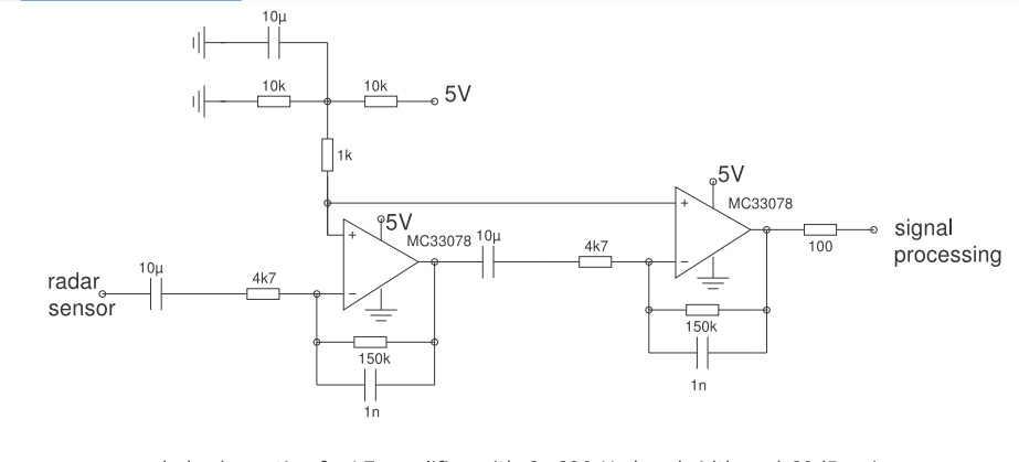 24G microwave CDM324 radar sensor module 24 125GHZ microwave module  automatic door induction radar microwave induction module