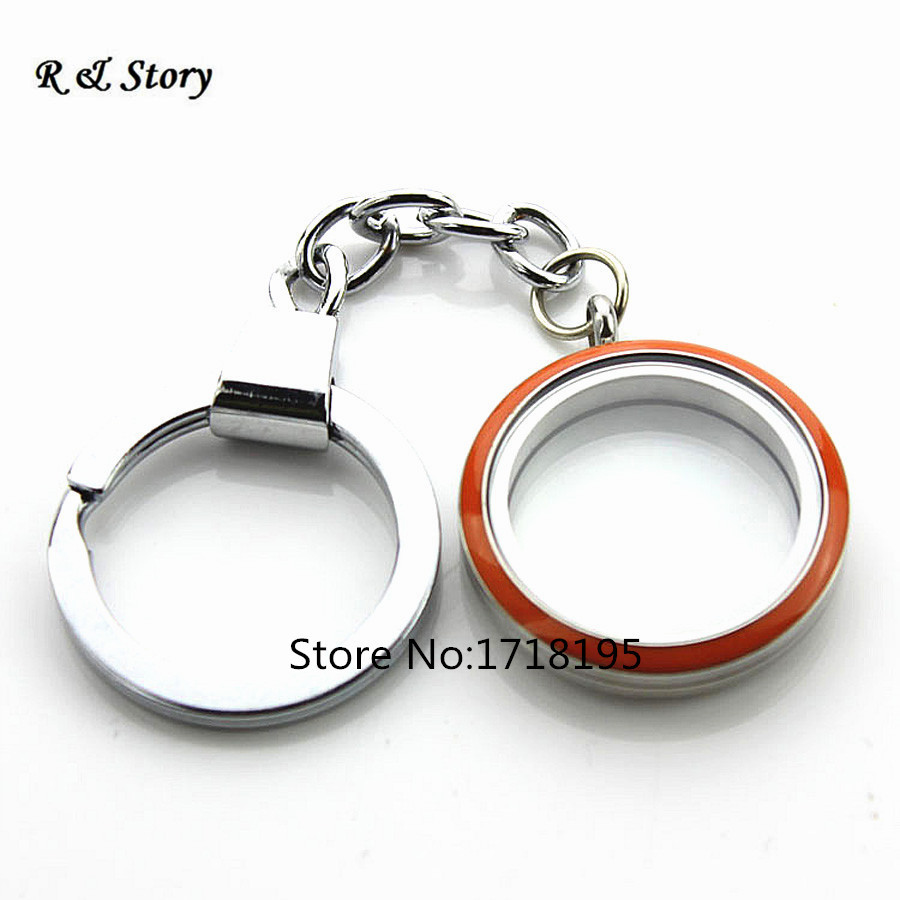 with memory keychain mouse from charms locket chains jewelry head in lockets shape plain alloy floating item gift living as key magnetic zinc