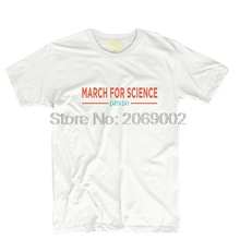 March for Science earth day Mens & Womens Custom T Shirt Tee Cosplay Tee