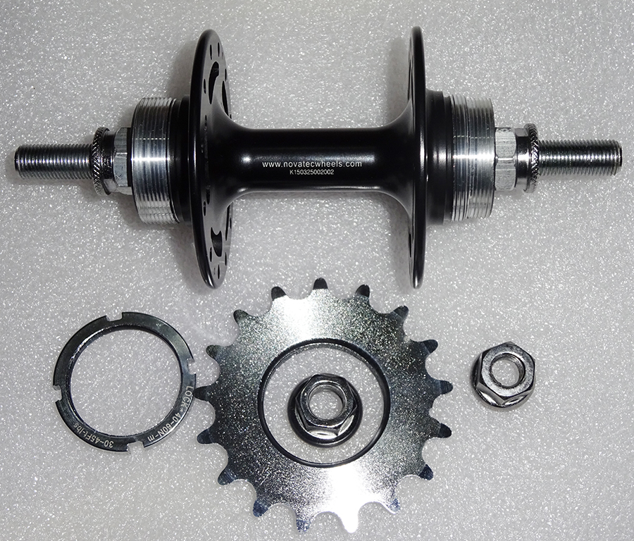 Novatec A165SB  A166SB Fixed Gear hub single speed bike hub bearing super light bicycle hubs 32 holes novatec d811sb d812sb ultra light disc brake bearing hub mtb mountain bike bicycle hubs 28 32 holes 28h 32h xc allround