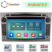 Android 6.0 Octa Core 2GB RAM 32GB ROM 4G BT DAB Car DVD Multimedia Radio For Opel Astra Vectra Corsa Meriva Antara Tigra Combo