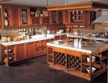 Классический вишня кухонные шкафы (LH-SW044)