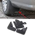 4pcs Car Styling ABS Mud Flap Splash Guard Mudguard Mudflap Fender Perfector External Decoration For Ford Ecosport 2013-2016
