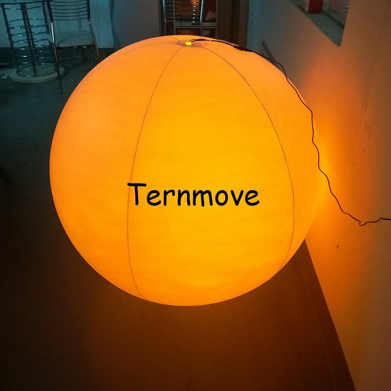 Надувное со светодиодной подсветкой Воздушный шар дистанционное управление Рождественский Декор мяч для концерта вечерние пляжные водные