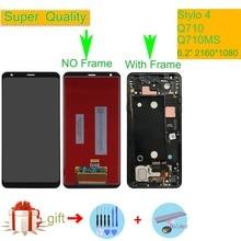 ORIGINAL For LG Stylo 4 Stylo4 Q710 Q710MS Q710CS LCD Display Touch Screen Digitizer Assembly For LG Stylo 4 LCD Display AMOLED воздухоувлажнитель воздухоочиститель bork q710