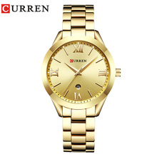 Curren reloj mujer Women Watches Rose Gold luxury Quartz Ladies Watch Fashion Brand Clock Wrist for women Hot sell