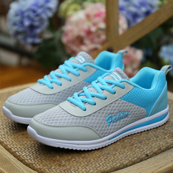HAJINK 2018 New Femme Summer Zapato Women Breathable Mesh Shoes Women Network Soft Casual Shoes Wild Flats Casual shoes