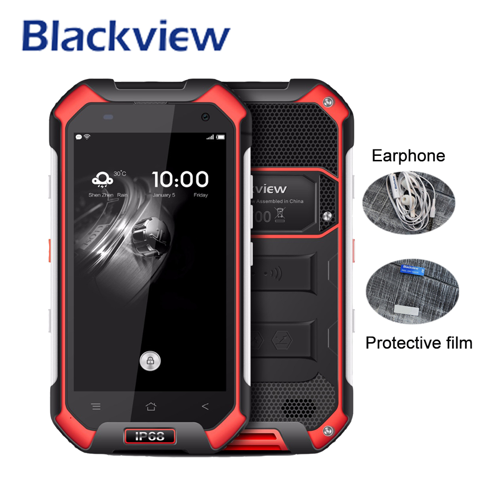 Blackview BV6000 Mobile Phone MT6755 Octa Core 3GB RAM 32GB ROM Android 6 0 Smartphone 4