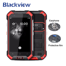 Blackview BV6000 Mobile Phone MT6755 Octa Core 3GB RAM 32GB ROM Android 6.0 Smartphone 4.7Inch HD Screen Waterproof 4G Cellphone