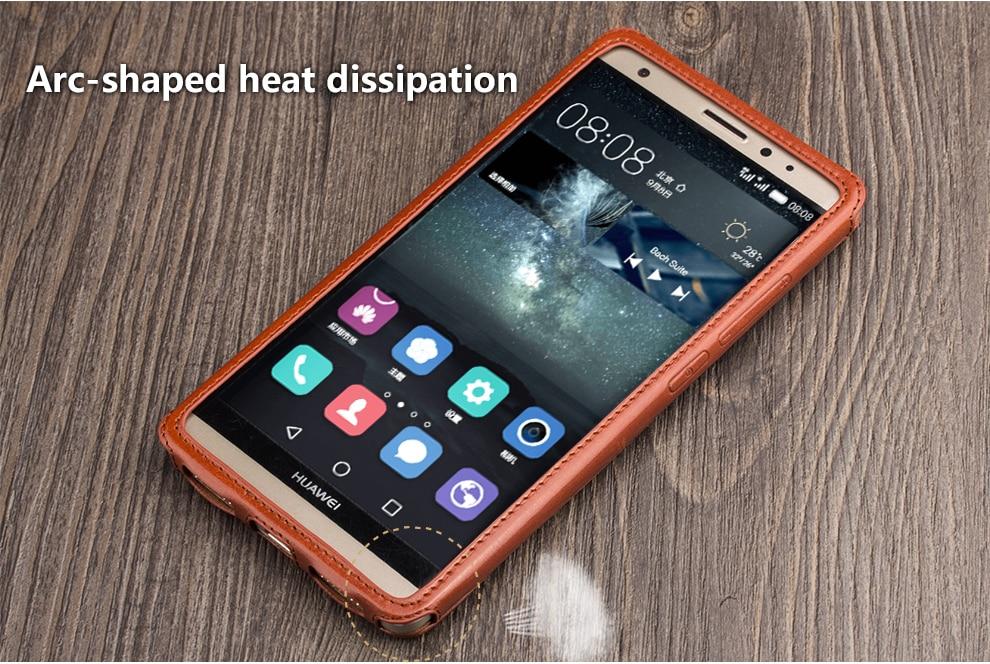 QIALINO telefonväska med ny ankomst för Huawei Mate S Elegant - Reservdelar och tillbehör för mobiltelefoner - Foto 2