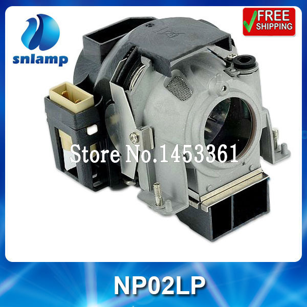 High quality conpatible projector lamp bulb NP02LP for NP40 NP50 high quality