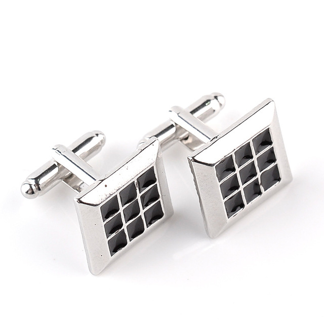 Carved Men's Fashion Personalized Wedding Groom Cufflinks
