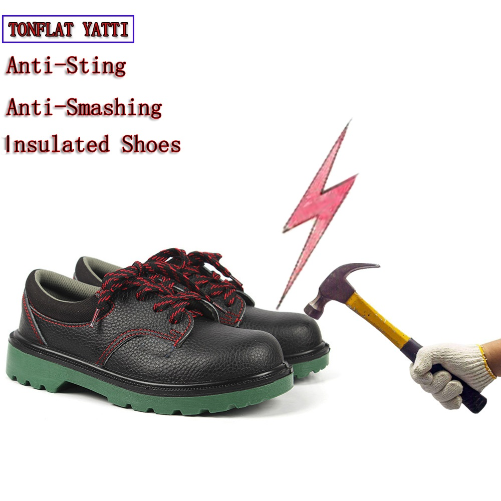 6KV Insulated Shoes  Anti-Sting Anti-Smashing Must Wear Insulated Electricians work Shoes Anti-Slip Wear Protective Labor Shoes