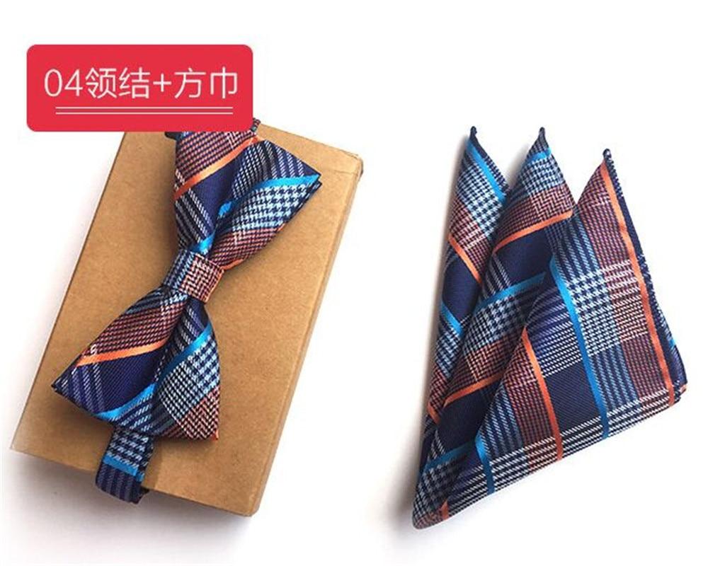 Apparel Accessories Devoted Cityraider New Blue Plaid Designer Mens Slim Necktie Gift Mens Silk Ties For Men Handkerchief With Bow Tie Match 2pcs Set Cr015 Crazy Price