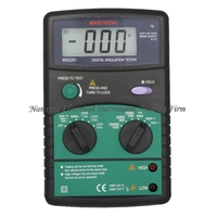 FAST SHIPMENT Mastech MS5201 Digital 1999 counts Megger Insulation Tester Resistance AC/DC Voltage with Sound/Light Alarm