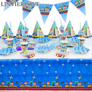 LINVIERLOVE Plate Napkins Birthday Party Decor Supplies