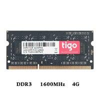 DIMM 4G 8G DDR3 1600MHz RAM PC3 12800 Memoria 204pin Laptop Components RAMs Voltage 1.35V single memoria ram ddr 3 For Laptop