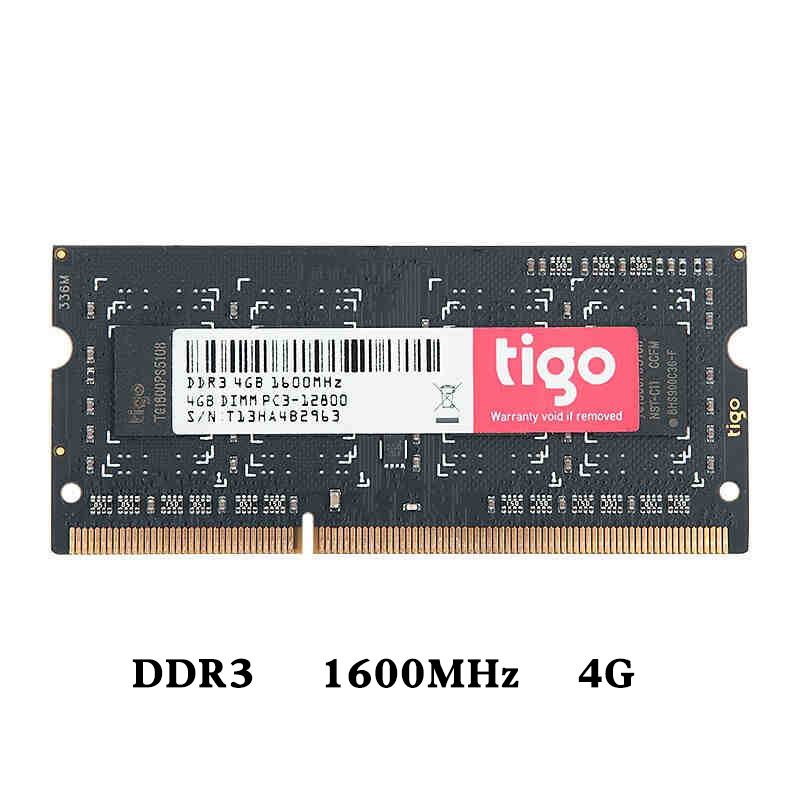 DIMM 4G 8G DDR3 1600MHz RAM PC3-<font><b>12800</b></font> Memoria 204pin Laptop Components RAMs Voltage 1.35V single memoria ram <font><b>ddr</b></font> <font><b>3</b></font> For Laptop image