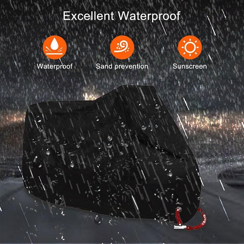 Чехол для мотоцикла Водонепроницаемый на открытом воздухе для защиты от дождя от УФ протектор XL
