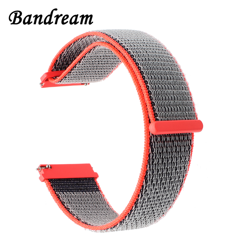 22mm Nylon Loop Watchband Quick Release Strap for Huawei Watch 2 (Classic) Samsung Gear 2 Neo Live Pebble Time / Steel Band Belt block b 2016 live concert blockbuster release date 2017 02 27