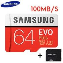 SAMSUNG 64GB Micro SD Card Waterproof EVO Micro SDXC 64gb Flash Card High Speed 100mb/s SD Cart Class10 SD Memory Card