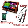 Универсальный Автомобильный Сканер Vpecker WIFI OBD2 Авто Диагностика Сканер + 66AC USB Инспекция Эндоскоп