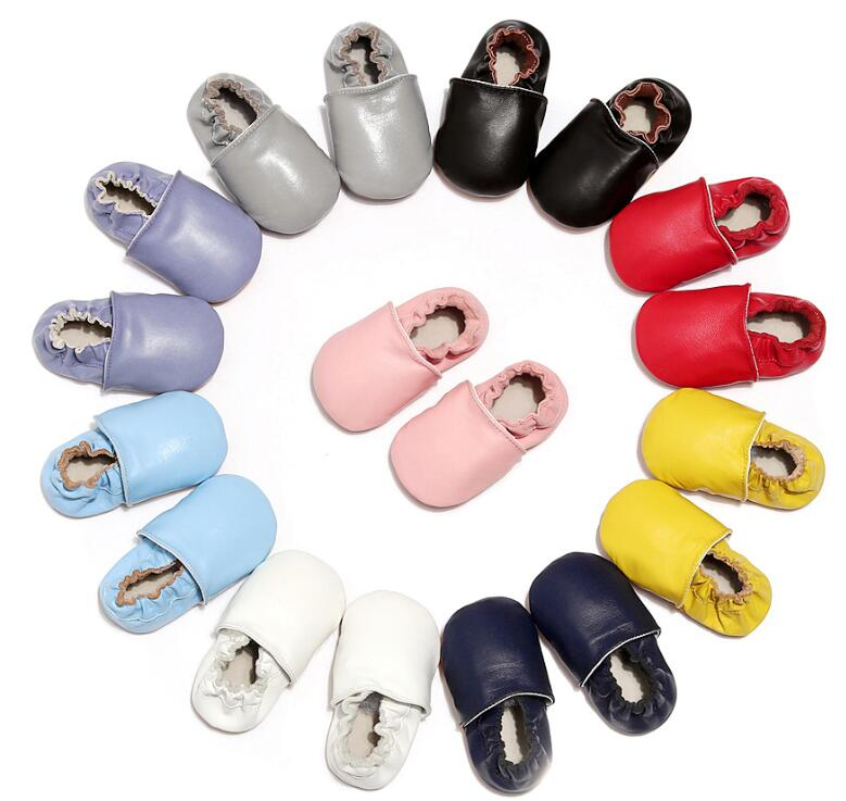 2019 New Baby Shoes Genuine Leather Boots For Girls Fashion Soft Soled Toddler Baby Shoes Prewalkers