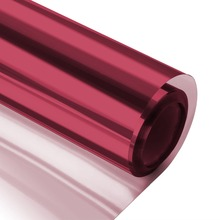 60 by 100 cm Mirrored Red Silver Window Film Reflective One Way Mirror Film Privacy Vinyl Glass Tint Sun Blocking Self-Adhesive length 7 m uv blocking self adhesive window film heat control one way privacy glass tint for home mirror reflective brown silver