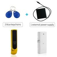 Güvenlik ve Koruma'ten Elektrikli Kilit'de Manyetik Anahtarsız Soyunma Kilit RFID Elektronik dolap kilidi
