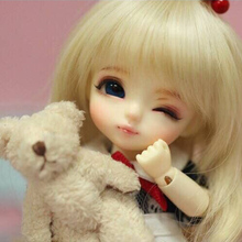 OUENEIFS lati yellow sunny lea lami kuro coco 1/8 sd/bjd model reborn bb girls boys doll toys shop dollhouse silicone furniture