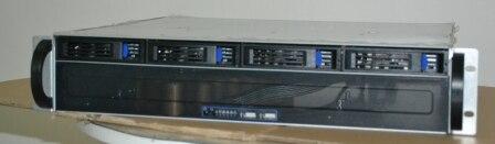 2U 4 hot-plug disco ultra breve scatola di immagazzinaggio server monitor caso cabinet NSA armadio dati2U 4 hot-plug disco ultra breve scatola di immagazzinaggio server monitor caso cabinet NSA armadio dati