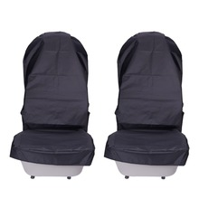 Waterproof Car Seat Covers Oxford Cloth Automobile Front Cover Protector Pads 2 Pcs Durable Interior Accessories