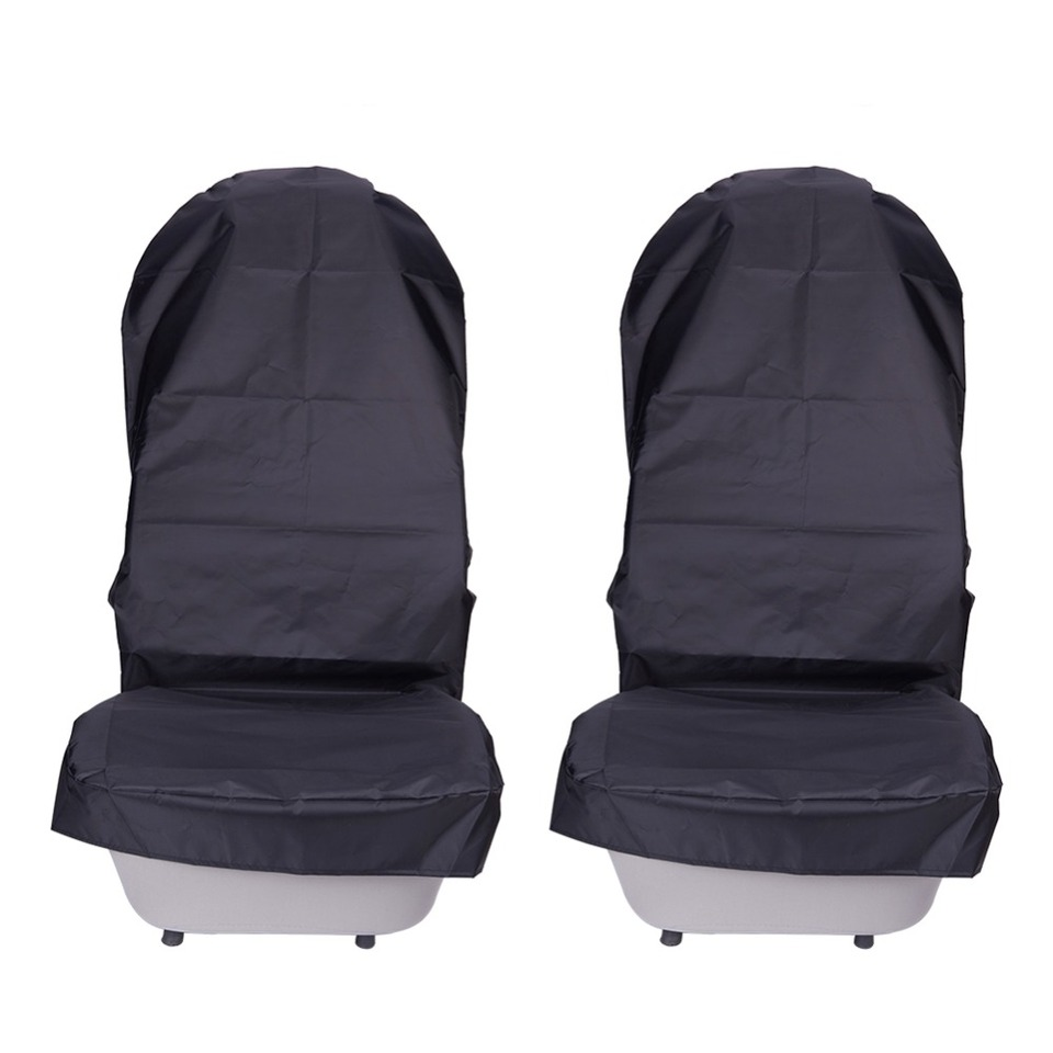 JINGJINGOLD Waterproof Rear Auto Seat Cover 600D Oxford Black Seat Cushion Water Resistant Universal Fit Seat Protection Quick Install For Most Cars /& SUV Truck