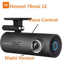 Newest 70mai 1S Car DVR 1080P Voice Control WiFi Dash Cam Camera Smart Parking Monitor with Night Vision English Russian Version