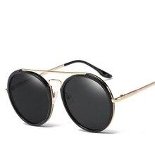 Mujeres Redondas de la vendimia gafas de Sol Retro Unisex Gafas de Sol Gafas De Sol Hombre Zonnebril Dames UV400, Gafas de moda y Accesorios
