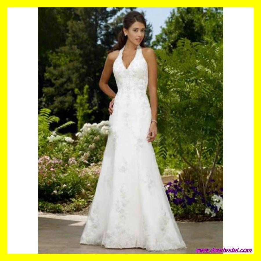 Pink Wedding Dresses Guest Casual Beach White Dress Purple A Line Floor Length Sweep Brush Train Liques Halter Of 2017 Outlet In From