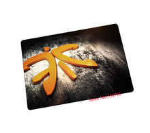 fnatic mouse pad Fashion trend gaming mouse pad laptop large mousepad gear notbook computer pad to mouse gamer brand play mats