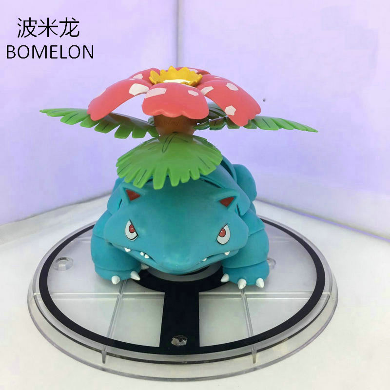 Venusaur Aciton Figures Pocket Monster Toys Anime Figurines PVC Jointed Doll Pigures Kids Toys Boys Birthday Gifts Brinquedos patrulla canina with shield brinquedos 6pcs set 6cm patrulha canina patrol puppy dog pvc action figures juguetes kids hot toys