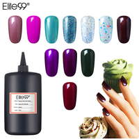 Elite99 High Quality 250ML Colorful Pure Nail Gel Polish UV Gel Varnish Bottle Vernis Semi Permanent Lacquer