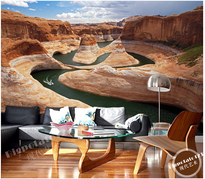 Custom USA Grand Canyon Natural Scenery For The Living