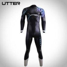 UTTER galaxis férfi triatlon neoprén tojás szörfös ruha szörfözéshez Futás és kerékpározás Kültéri fürdőruha