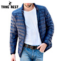 2017 Super Selling Men's Fashional Warm White Duck Down Jacket Winter New Arrival Solid Stand Color Men's Jacket MWY160